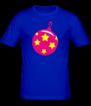 Мужская футболка  Ёлочная игрушка