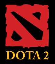 Футболка поло мужская DOTA 2