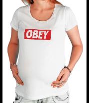 Футболка для беременных Obey