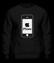 Толстовка без капюшона Apple iPhone