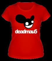 Женская футболка  DeadMau5