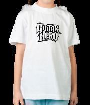 Детская футболка  Guitar Hero