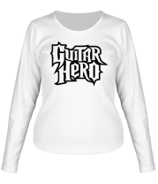 Женская футболка с длинным рукавом Guitar Hero