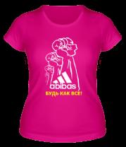 Женская футболка  Будь как все