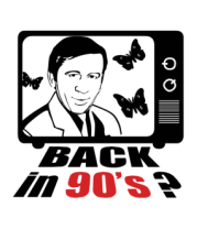 Мужская футболка  Back in 90's