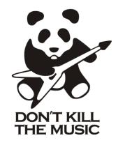 Женская футболка  Don't Kill The Music