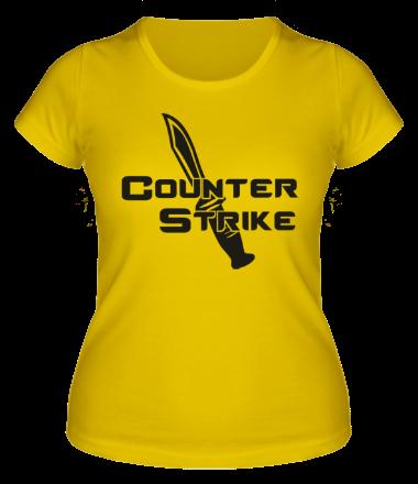 Женская футболка  Counter Strike - Контр Страйк