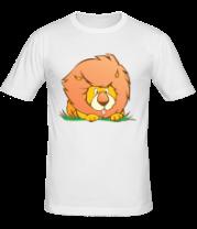 Мужская футболка  Sweet lion