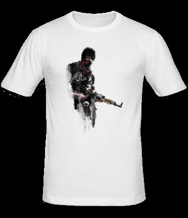 Мужская футболка  APB Reloaded - Criminal  АК47