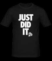 Мужская футболка  Just Did It