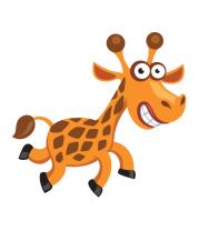 Шапка Жираф smile