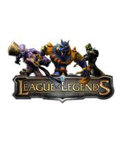 Женская футболка с длинным рукавом League of Legends