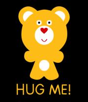 Толстовка Hug me - Обними меня