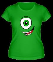 Женская футболка  Майк Вазовский - смайл