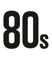 Женская футболка с длинным рукавом Old School 80s