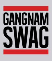 Толстовка Gangnam Swag