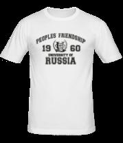 Мужская футболка  РУДН
