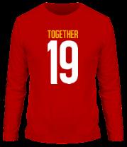 Мужская футболка с длинным рукавом Together since 19XX