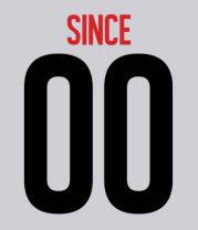 Мужская футболка  Together since XX00