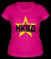 Женская футболка  НКВД