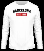 Мужская футболка с длинным рукавом FC Barcelona Est. 1899