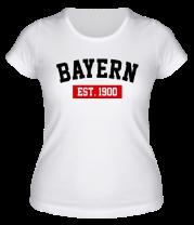 Женская футболка  FC Bayern Est. 1900