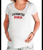 Футболка для беременных FC Juventus Est. 1897