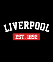 Мужская футболка с длинным рукавом FC Liverpool Est. 1892
