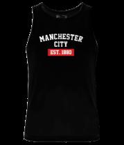 Мужская майка FC Manchester City Est. 1880