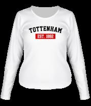 Женская футболка с длинным рукавом FC Santos Est. 1912