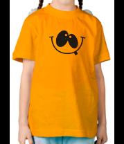 Детская футболка  Улыбка
