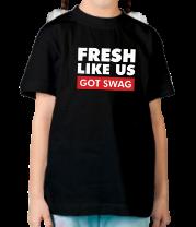 Детская футболка  Fresh like US