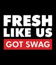 Женская футболка с длинным рукавом Fresh like US