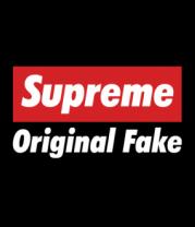 Женская майка борцовка Supreme Original Fake