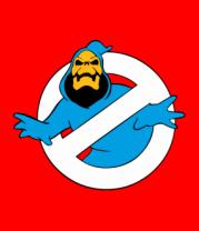 Женская футболка  Ghostbusters знак смерти