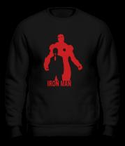 Толстовка без капюшона Ironman (Железный человек)