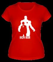 Женская футболка  Ironman (Железный человек)