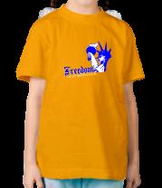 Детская футболка  Freedom
