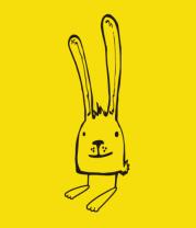 Детская футболка  Ушастый заяц