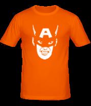 Мужская футболка  Капитан Америка (capitan america)