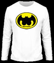 Мужская футболка с длинным рукавом Batgirl