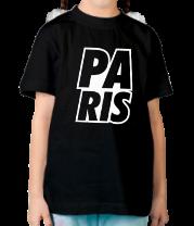Детская футболка  Paris Lines