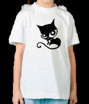 Детская футболка  Doom Kitty