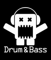 Мужская футболка  Drum & Bass