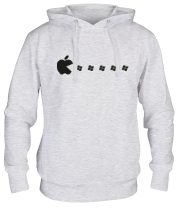 Толстовка Apple pacman