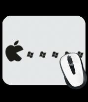 Коврик для мыши Apple pacman