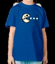 Детская футболка  Dead Pacman glow
