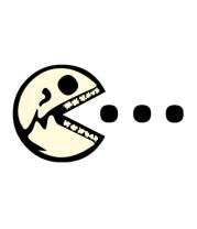 Женская футболка  Dead Pacman glow