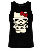 Мужская майка Kitty storm trooper светится