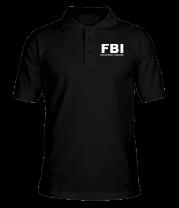 Футболка поло мужская FBI Female Body Inspector